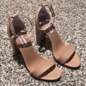 Steve Madden Carrson Leather Ankle Strap Sandals
